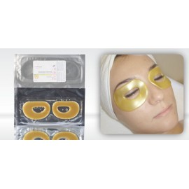 Hydrogel Golden Crystal Eye Mask (5 + 1 GRATIS !)
