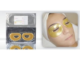 Hydrogel Golden Crystal Eye Mask