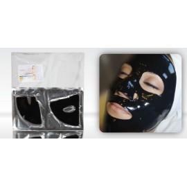 Bamboo Charcoal Hydrogel Crystal Mask - Hydrożelowa maska z węglem drzewnym na twarz