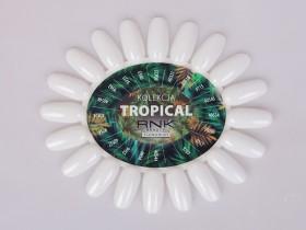 Wzornik czysty mleczny z etykietą - Tropical