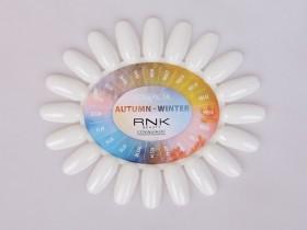 Wzornik czysty mleczny z etykietą - Autumn Winter