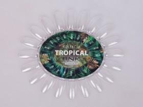 Wzornik czysty bezbarwny z etykietą - Tropical
