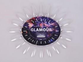Wzornik czysty bezbarwny z etykietą - Glamour