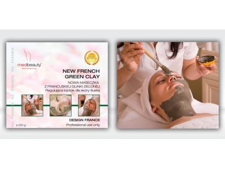 New French Green Clay - Maseczka z francuskiej glinki zielonej