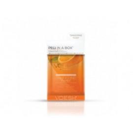 VOESH Tangerine Twist Pedi In A Box Deluxe - Zestaw do pedicure SPA 4 kroki z ekstaraktem z mandarynki
