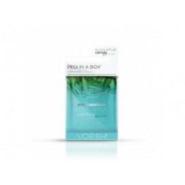 VOESH Eucalyptus Energy Boost Pedi In A Box Deluxe- Zestaw do pedicure SPA 4 kroki z ekstraktem z eukaliptusa