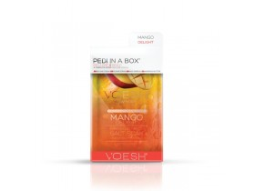VOESH Mango Delight Pedi In A Box Deluxe- Zestaw do pedicure SPA 4 kroki zekstraktem z mango