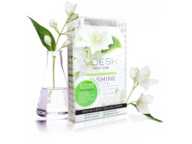 VOESH Jasmine Soothe Pedi In A Box Deluxe- Zestaw do pedicure SPA 4 kroki z ekstraktem z kwiatu jaśminu