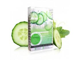 VOESH Cucumber Fresh Pedi In A Box Deluxe- Zestaw do pedicure SPA 4 kroki z ekstraktem z ogórka