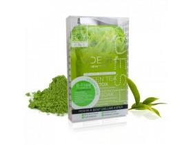 VOESH Green Tea Detox Pedi In A Box Deluxe - Zestaw do pedicure SPA 4 kroki z ekstraktem z zielonej herbaty