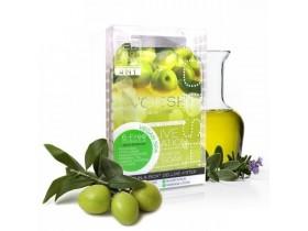 VOESH Olive Sensation Pedi In A Box Deluxe - Zestaw do pedicure SPA 4 kroki z ekstraktem z oliwy z oliwek