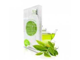 VOESH Green Tea Detox Mani In A Box - Zestaw do manicure SPA 3 kroki z ekstraktem z zielonej herbaty