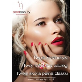 Plakat A1 Medbeauty - Twoje kosmetyki