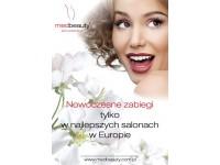 Plakat A2 Medbeauty - Nowoczesne zabiegi