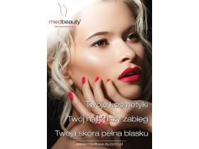 Plakat A1 Medbeauty - Nowoczesne zabiegi