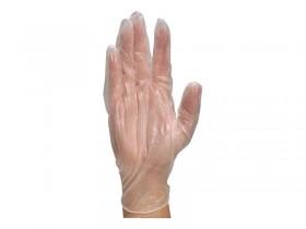 Rękawiczki jednorazowe winylowe (1 opakowanie - 100 sztuk)