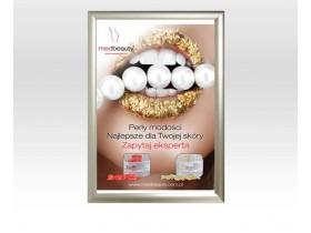 NOWOŚĆ! Plakat A1 medbeauty + rama owz aluminiowa