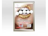 NOWOŚĆ! Plakat A2 medbeauty + rama owz aluminiowa