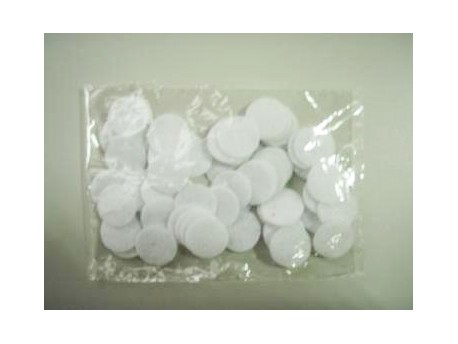 Filtry bawełniane Phoenix do mikrodermoabrazji (80 szt.)