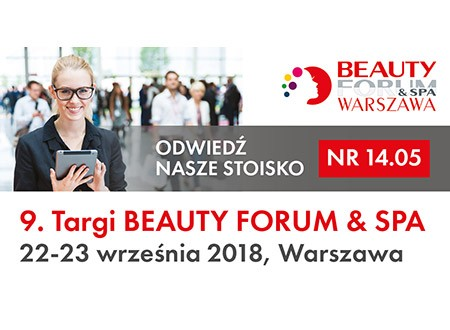 Targi Beauty Forum & SPA - 22-23.09.2018
